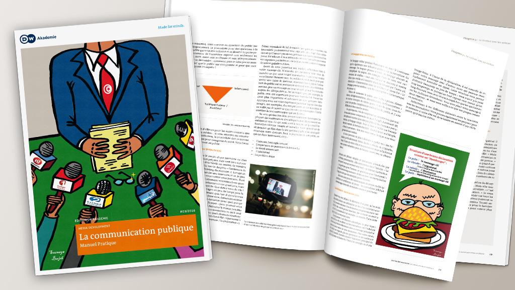 Wissensmanagement: Ich schrieb mit an einem PR-Lehrbuch für Behörden (DW Akademie/ Präsidialamt Tunesien)