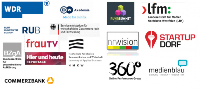 Zusammenarbeit mit diversen Medienunternehmen